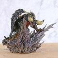 Монстр Хантер, крышка мира, монстры, гигантский дракон, статуя, ПВХ фигурка, модель игрушки