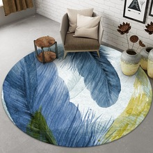 Home-Carpets Living-Room Round Room-Decor Nordic Rugs Area Large Fashion New Modern Non-Slip