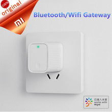 New Xiaomi Smart Cleargrass Bluetooth/Wifi Gateway Hub Work With Mijia Bluetooth Sub-device Smart Home Device(China)