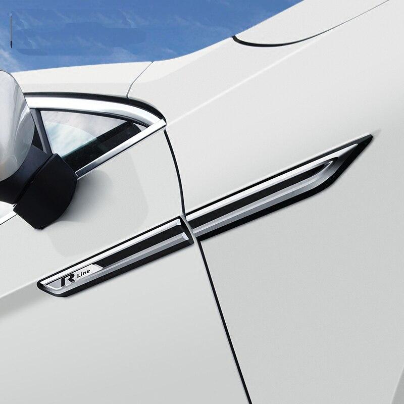 2x fender emblema badge adhesive VW Volkswagen passat variant B8