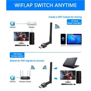 Image 2 - Czytnik kart pamięci Rocketek 150Mbps bezprzewodowej sieci Lan adapter USB WiFi MT7601 Mini bezprzewodowy dostęp do internetu Ethernet antena odbiornika klucz 2.4G dla Pc Windows bezprzewodowy dostęp do internetu