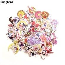 Blinghero в морском стиле наклейки с Луной 56 шт./компл. мультфильм Стикеры s для рук милые Чемодан Стикеры наклейка ноутбук Стикеры s BH0130