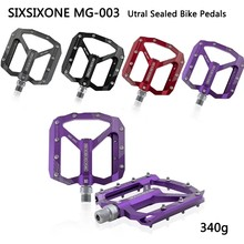 SIXSIXONE Utral Versiegelt Bike Pedale CNC Aluminium Körper Für MTB Straße faltrad Fahrrad 3 Lager Fahrrad Pedal