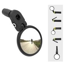 Велосипедное Зеркало заднего вида горная дорога переднее зеркало заднего вида для безопасности-зеркало для ручки из нержавеющей стали