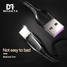 MADATA USB C Cable 5A Type 1.2M Fast Charge for Samsung Galaxy S10 Huawei P30 Pr USB-C Type-c Xiaomi Redmi Note7