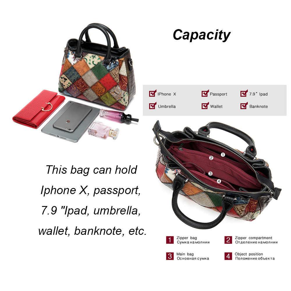 MVA сумка женские сумки из натуральной кожи женская сумка через плечо Лоскутная женская сумка на плечо женская кожаная сумка-мессенджер