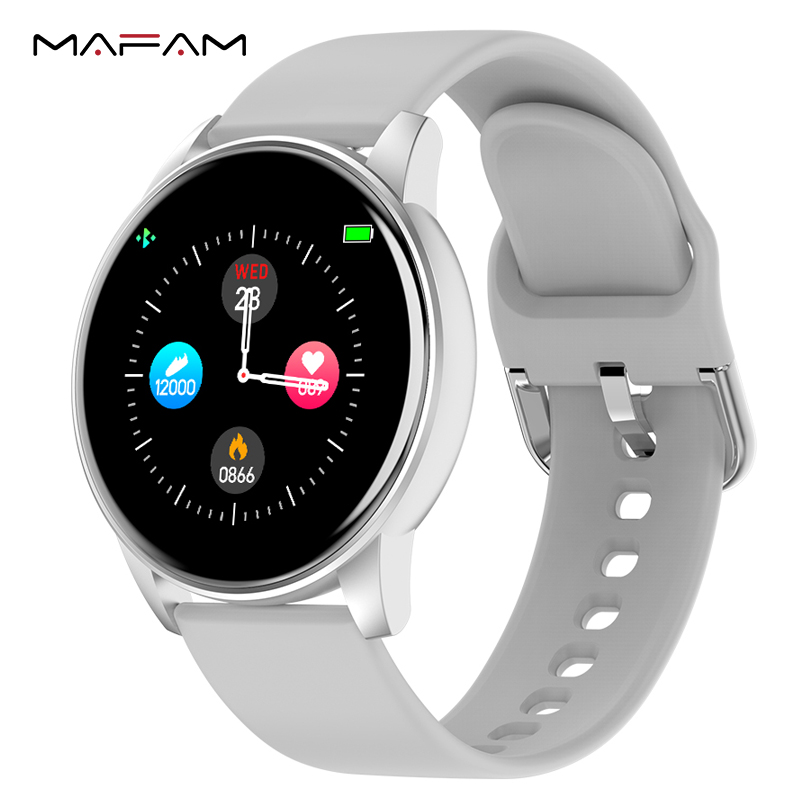 MAFAM ZL01 Smart Watch Men Women Heart rate Blood pressure Monitor Weather Forecast Music Control Call Reminder For Xiaomi Phone|Smart Watches| |  -