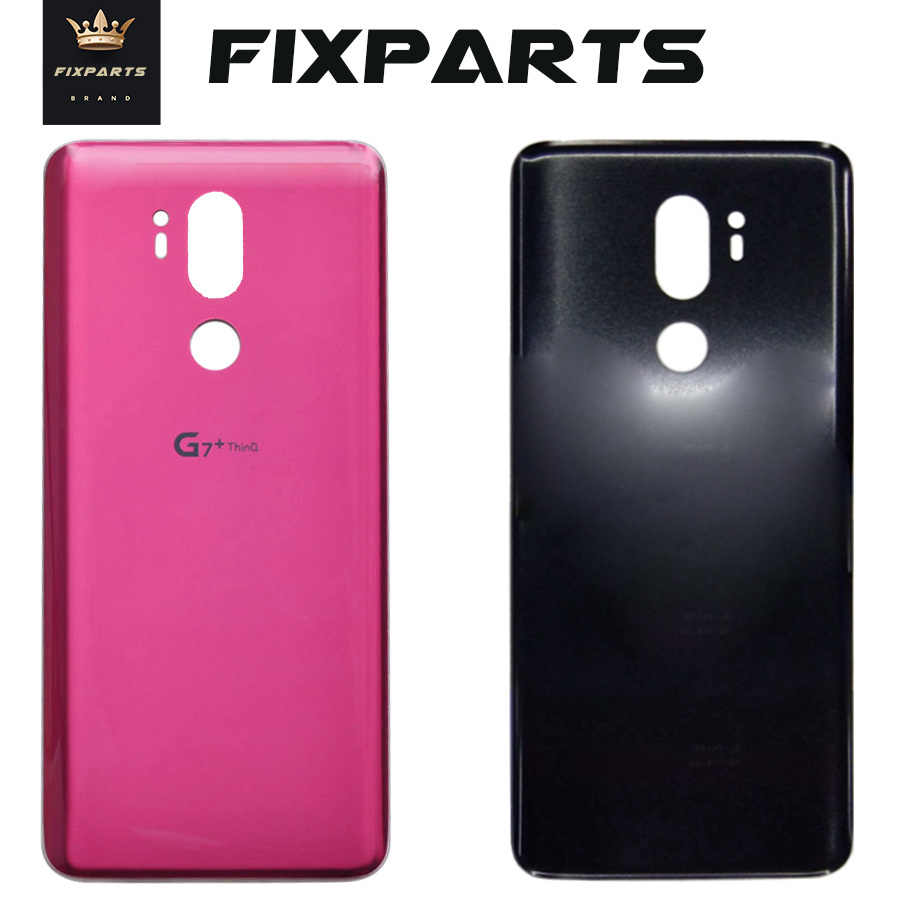 Glass Battery Cover For LG G7 ThinQ G7+ G710 G710EM Rear Housing Back Case With Adhesive Replacement Part For LG G7 fit G7 one