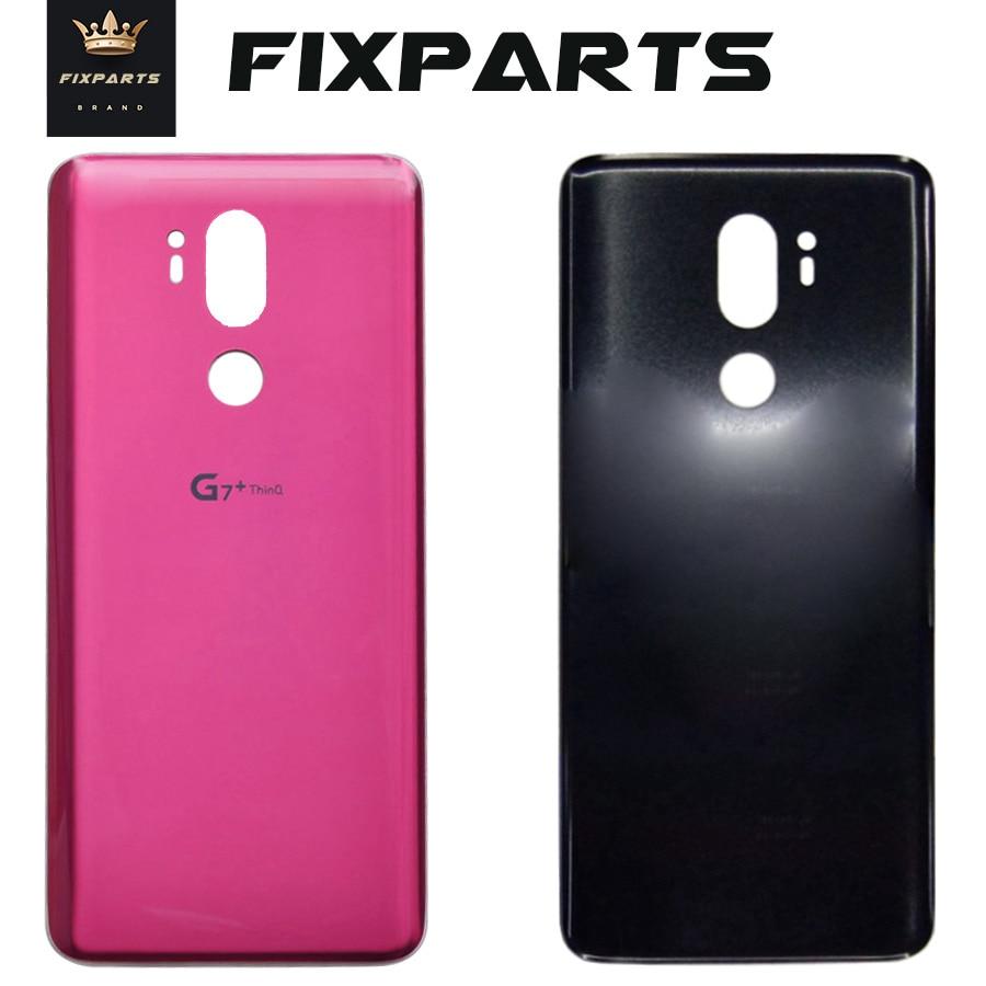 Стекло Батарея крышка для LG G7 ThinQ G7 + G710 G710EM сзади Корпус задний Чехол с клей Запасная часть для LG G7 подходит G7 один