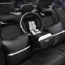 Cojín de protección para el cuello del asiento del coche, apoyo para reposacabezas automático, cubierta para rueda de coche, reposacabezas, almohada para la cintura