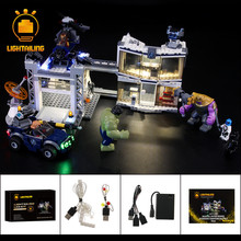 LIGHTAILING LED Light Kit For Compound Battle Light Set Compatible With 76131 (NOT Include The Model) цена 2017