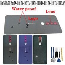 Shyueda Orig New For Nokia 5.1 Plus X5 TA-1102 TA-1105 TA-1108 TA-1109 TA-1112 TA-1120 TA-1199 Rear Back Housing Battery Cover ta sports