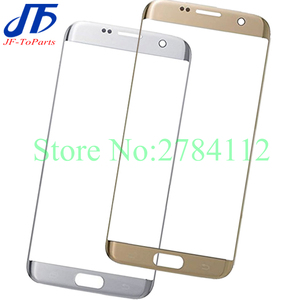 Image 1 - 10Pcs Touch Screen panel Replacement for Samsung Galaxy S7 Edge S6 edge plus G928 G935 G925 s7edge Front LCD Outer Glass Lens