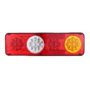 Image 4 - 1 Đôi Chống Thấm Nước Xe Tải Xe Tải 12V 24V 36 Đèn LED Dây Tóc 3 Màu Chỉ Báo Đèn Sau Cho Xe Tải xe Kéo Xe Phụ Kiện