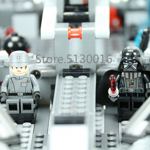 Image 4 - In Stock 05062 The Imperial Super Star Destroyer 1487pcs Star Movie Wars Model Building Blocks Compatible with 75055 Toys-in Blocks from Toys & Hobbies