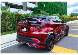 Abs samochód tylna owiewka bagażnika spoilery dla TOYOTA C-HR CHR 2018 2019 2020