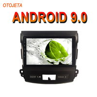 OTOJETA Android 9.0 2.5D Screen Car Radio Player For Mitsubishi Outlander 06 bluetooth Multimedia Stereo GPS Navi tape recorder