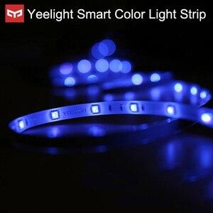 Image 2 - Yeelight tira de luces LED RGB para casa inteligente, 2M, para aplicación para hogares, WiFi, funciona con asistente de Google Home de Alexa, 16 millones de colores