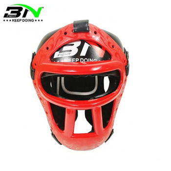 Thick KickBoxing Headguard with Detachable Mask Muay Thai Sparring Kid/Adult Sport Helmet Mask Boxing Punching Training Headgear