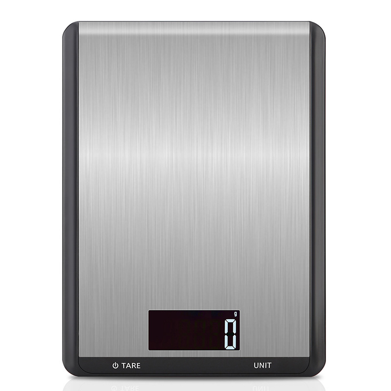 Fashion Stainless Steel Digital Kitchen Scale 10000g/1g 10kg Electronic Balance Food Baking Scale LCD Backlight Display
