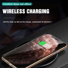 Ultra Thin Clear Silicone Phone Case For iPhone 11 Pro Max Case iphone XR XS Max X 7 8 6 6S Plus Soft TPU Transparent Back Cover