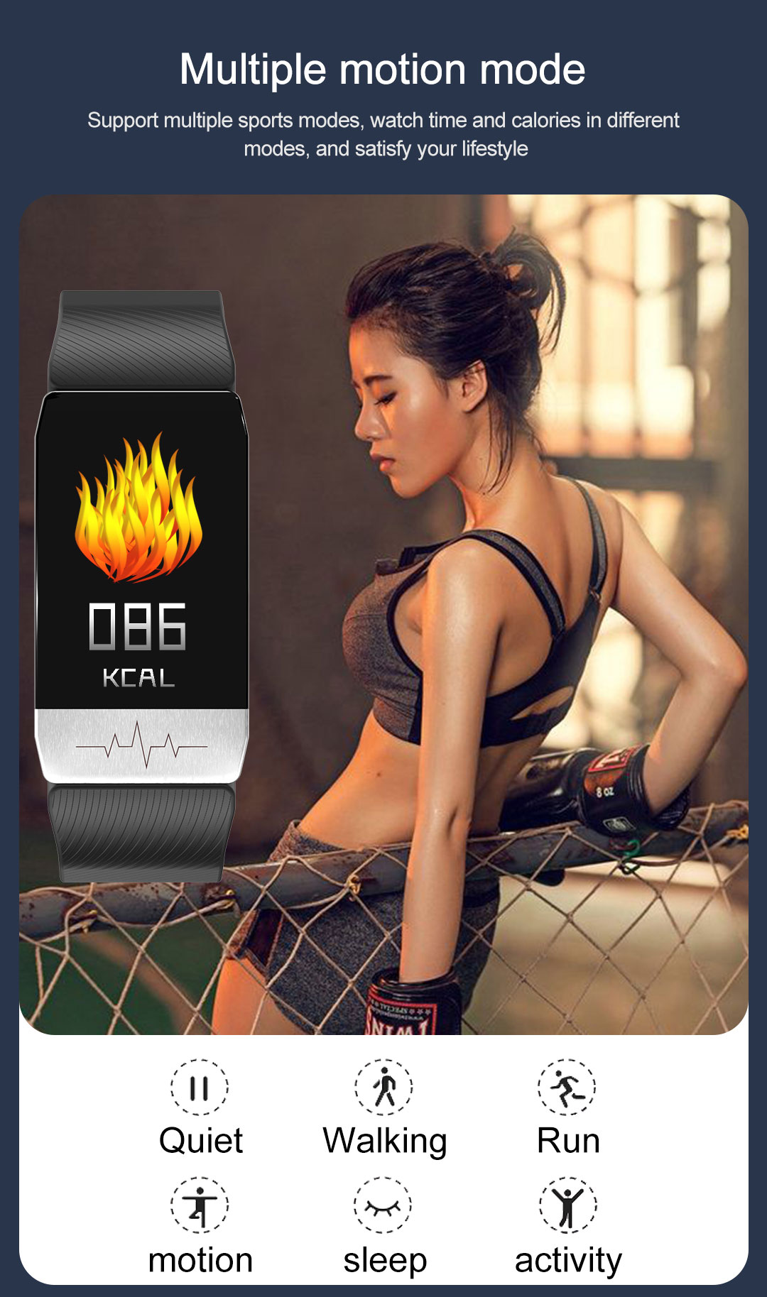 Body Temperature measurement Smart Band