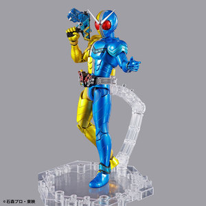 Image 2 - PrettyAngel настоящий BANDAI SPIRITS фигура rise стандарт Kamen Rider W Luna триггер пластиковая модель фигурку