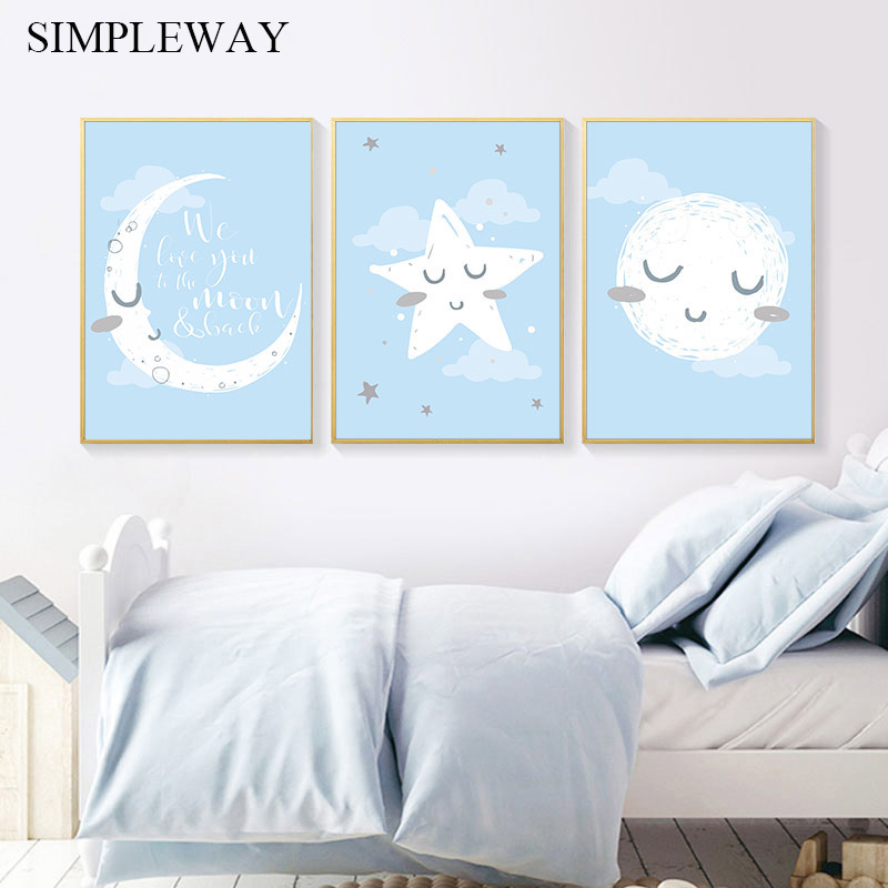 Baby Nursery Quotes Wall Art Poster