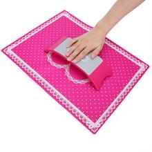 Hand Rests Silicone Hand Rest Cushion Pillow Folding Nail Art Mat Manicure Tools for Salon Manicure