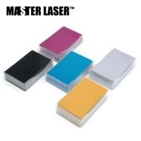 Free Shipping Business CardID Card Aluminum Card Al Card Blank Card Colorful Card for Laser Marking Machine