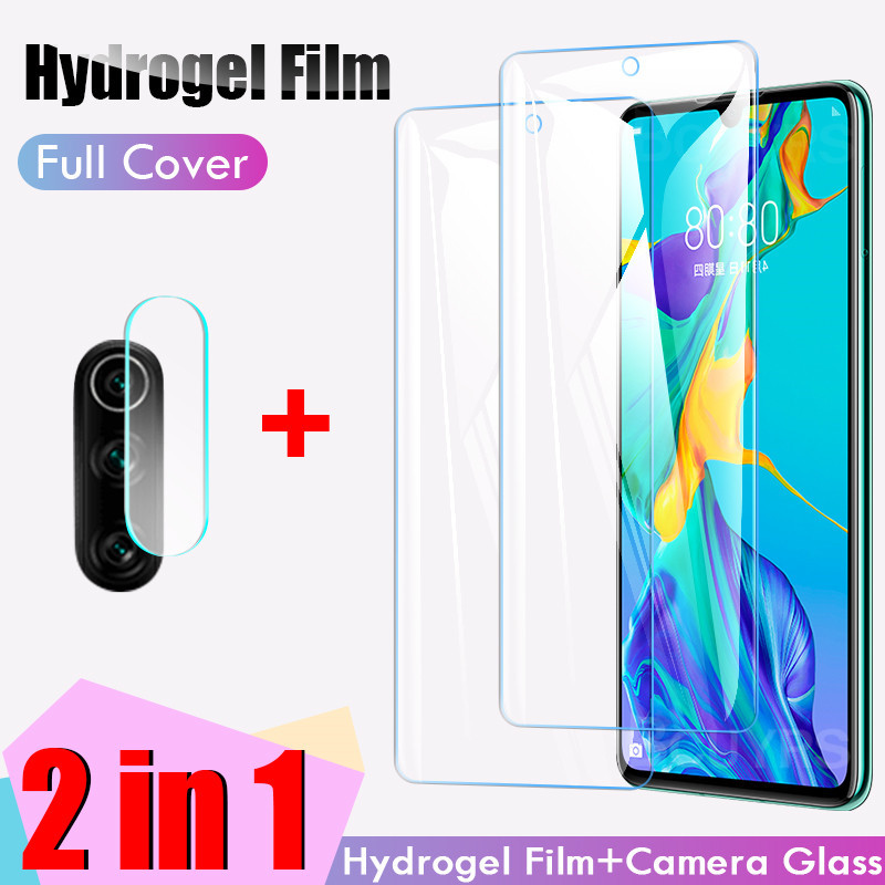 100D Screen Protector For Huawei P30 P20 Pro Lite P Smart 2019 Hydrogel Film For Huawei Mate 20 30 Lite Pro Film Not Glass
