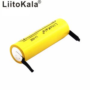 Image 2 - Liitokala bateria li ni Lii 50E 21700 5000 mah, 3.7 v 40a para alta descarga mod/kit 3.7 v 15a potência + diy nicke