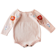 New 2019 Autumn Baby Romper Girl Clothes Cotton Knit Infant Toddler Jumpsuit Long Sleeve Onesie Baby Clothing Costume Overalls цены онлайн