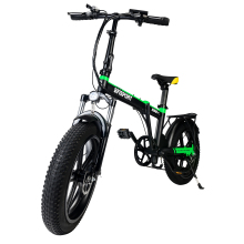 Ebike-Fat Hub-Motor Snow Li-Ion-Battery Biycle Foldable Electric 500W 20in Brushless