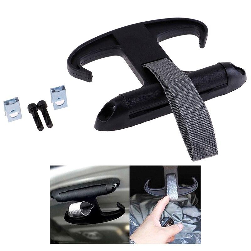 """13 см * 9 см/5,12*3,54 """"высококачественный автомобильный багажный мешок крючок для вешалки Органайзер пластик для VW Jetta Volkswagen черная Мода"""