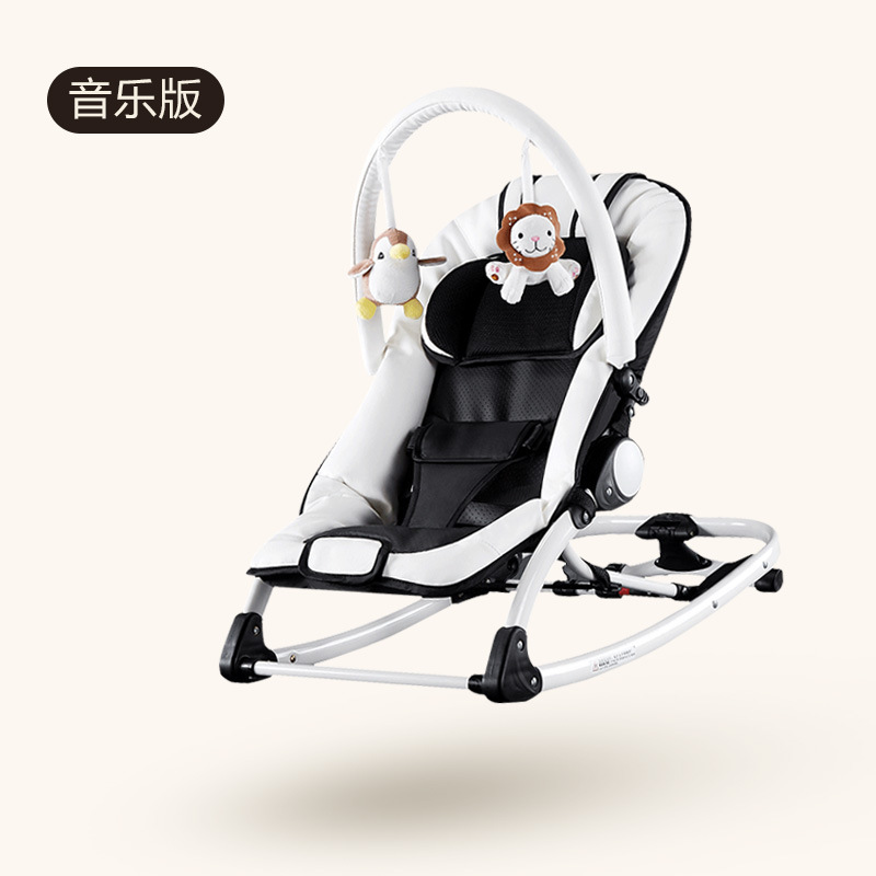 H60b921f2ed7345eeb0ea0006a2c316afX Baby cradle electric baby rocking chair baby swing sleeping cradle bed with music comfort rocking chair Multifunctional berceau