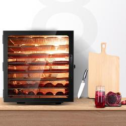 8 Layer Food Dryer Stainless Steel Food Fruit Vegetable Pet Meat Air Dryer Electric Dehydrator