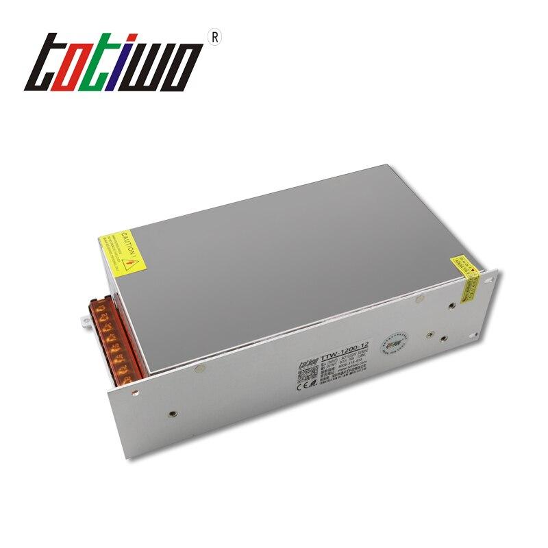 AC à DC 1200W alimentation industrielle commutation SMPS 12V 15V 18V 24V 30V 36V 48V 60V 70V 80V 90V
