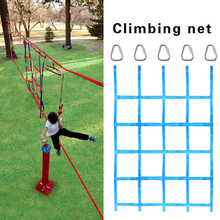 Climbing Net For Ninja Obstacle Course Kids Backyard Training Equipment Sturdy Impact Resistant Stair Protection Net