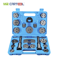 MR CARTOOL 21pcs Universal Auto Car Precision Disc brake Brake Piston Compressor Tool Kit Set For Automobiles Repair Tools