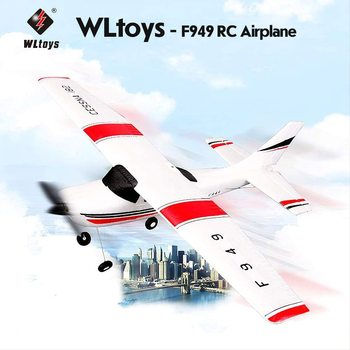 Wltoys F949 2.4G 3Ch RC Airplane Fixed Wing Plane Outdoor toys Drone RTF Hand Throwing Gliders