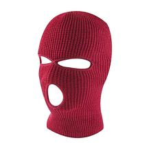 Buy Unisex Winter Balaclava 2/3 Hole Full Face Cap Outdoor Riding Motorcycle Mask Knitting Face Mask Ski Mountaineering Head Cover directly from merchant!