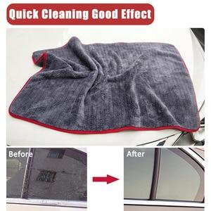 Image 5 - 60*90 1200GSM Car Detailing Microfiber Towel Car Cleaning Drying Cloth Car Care Cloth Detailing Car Washing Rag for Care Kitchen