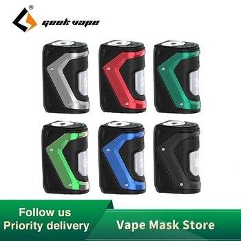 Original GeekVape Aegis Squonker Mod 100W Box Mod Vape with 10ml Squonker Bottle Fit Electronic Cigarette VS Aegis Solo Vapor