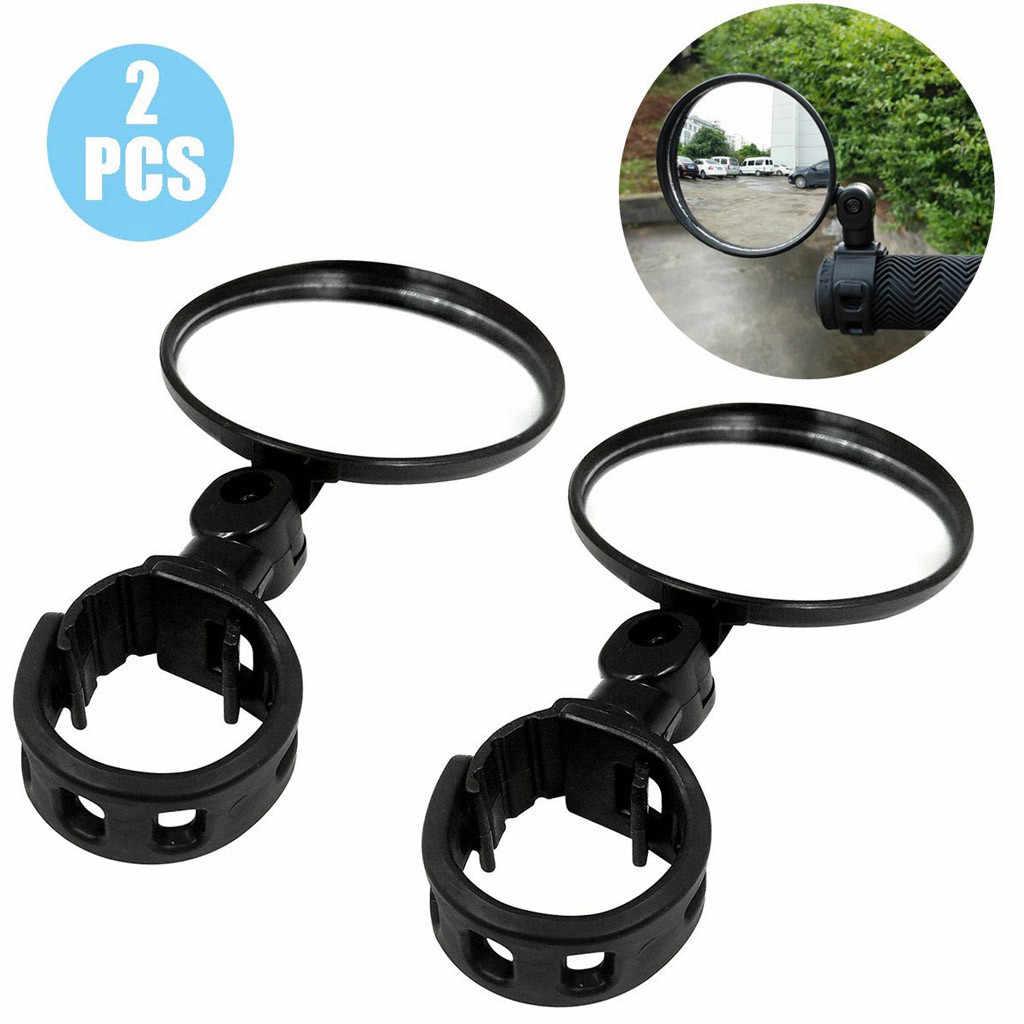 360° Adjustable Handlebar Flexible Rearview Mirror For Bike MTB Bicycle-Cycling