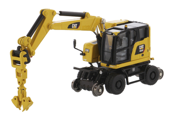 NEW  2020 Diecast Masters 1/87 HO Scale caterpillars  Cat M323F Railroad Wheeled Excavator High Line Series 85612 caterpillar cat m316d wheel excavator 1 50 model by diecast masters 85171