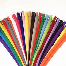 50 stücke (6/7/8/10/12/14/16/20/22 /24 zoll) mix nylon zipper tailor kanalisation handwerker und FGDQRS