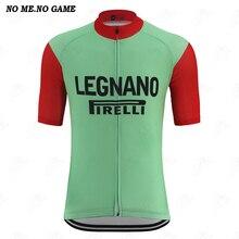 Jersey retro clásico para ciclismo, camiseta para hombre, verde, rojo, manga corta, ropa de ciclismo de carretera mtb, secado rápido, 100% de poliéster
