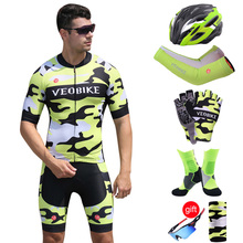 2019 Pro Team Cycling Jersey Set Men Summer Short Sleeve Bicycle Clothes Mtb Bike Riding Suit Cycle Clothing Racing SportsWear цена