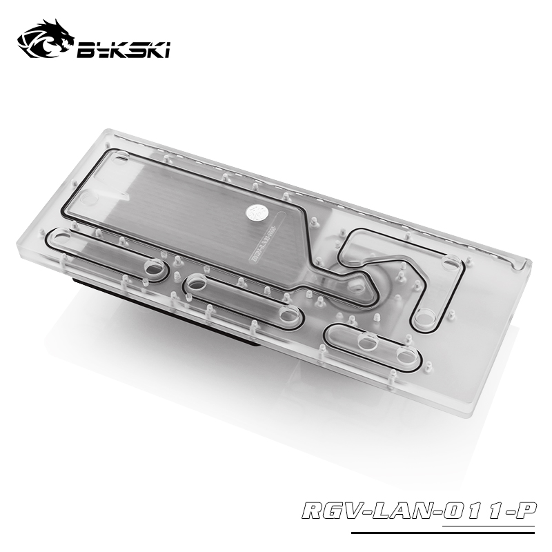 Bykski RGV-LAN-O11-P Distro Plate For Lianli PC-O11
